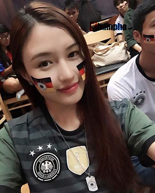 Người đẹp Phương Chi: Xứng danh fan cuồng tuyển Đức - 8
