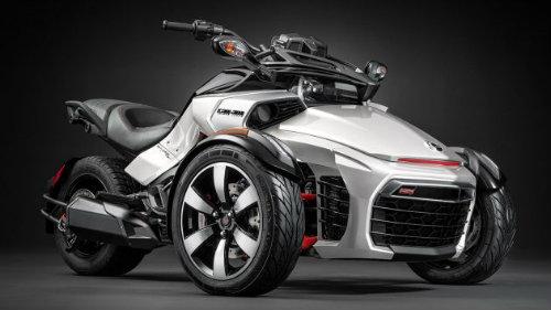 2016 Can-Am Spyder F3-S: Quái xế ba bánh ngoài hành tinh - 1