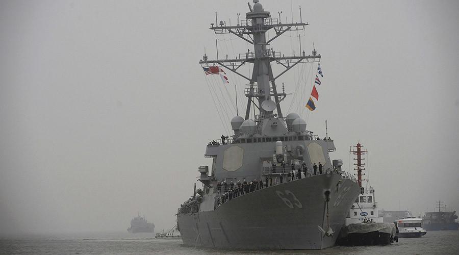 """Tàu khu trục Mỹ """"lượn"""" gần đảo nhân tạo, khiêu khích TQ - 2"""