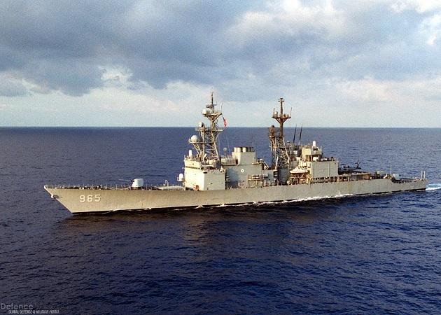 """Tàu khu trục Mỹ """"lượn"""" gần đảo nhân tạo, khiêu khích TQ - 1"""