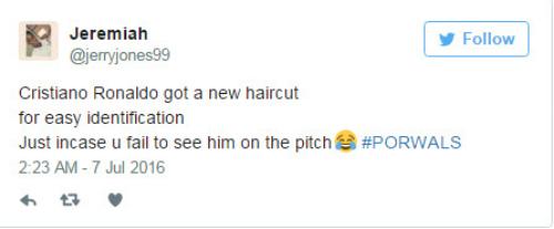 """Tóc mới của Ronaldo bị """"ném đá"""" thậm tệ - 4"""