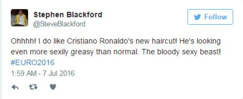 """Tóc mới của Ronaldo bị """"ném đá"""" thậm tệ - 5"""