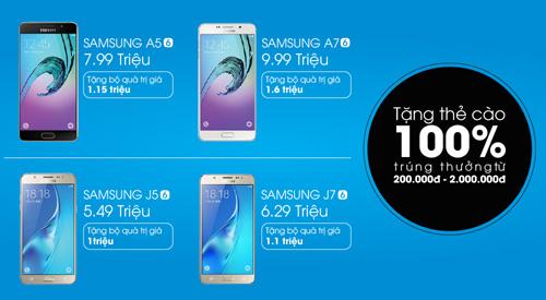Mua điện thoại Samsung tặng 2 triệu đồng tiền mặt - 2