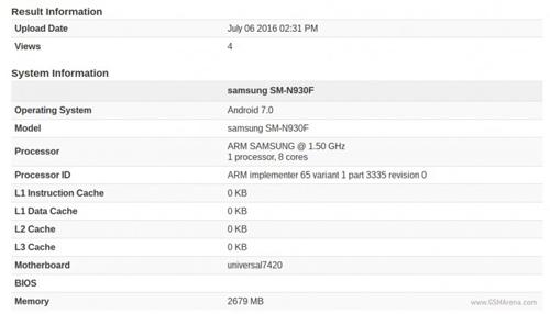 Phát hiện Galaxy Note 7 chạy Android 7.0 Nougat - 1