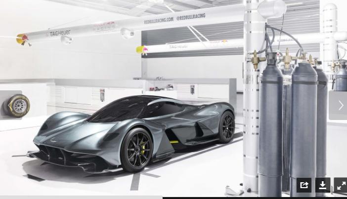 Aston Martin sắp tung siêu xe đình đám - 1