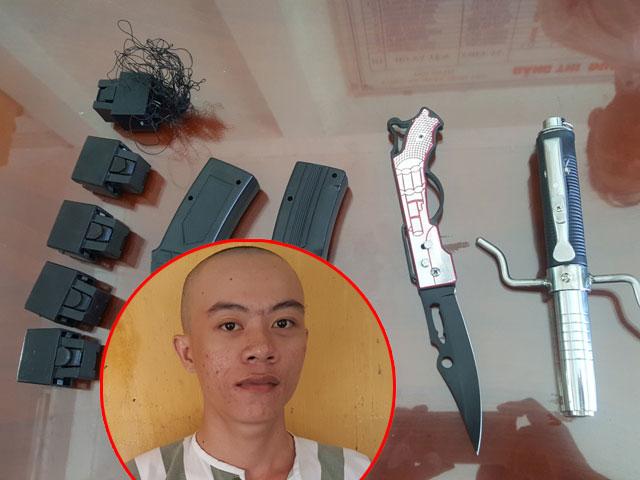 TP.HCM: Mang súng đi cướp xe, bị dân vây bắt - 1