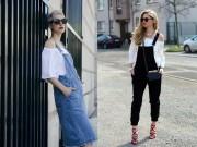 Thời trang - Thêm một cách mặc đẹp khó cưỡng với áo hở vai