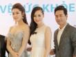 Huyền My - Phan Anh rạng rỡ trong buổi ra mắt bộ dược mỹ phẩm OCEANIC
