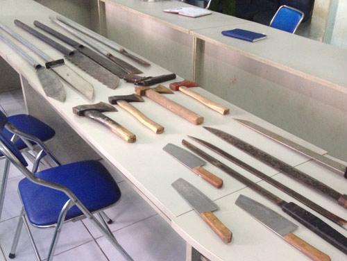 Băng giang hồ bảo kê, cho vay nặng lãi ở SG bị bắt - 2