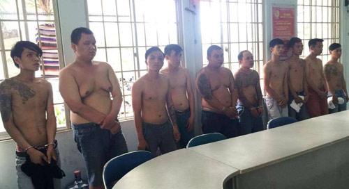 Băng giang hồ bảo kê, cho vay nặng lãi ở SG bị bắt - 1