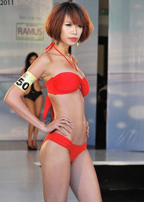 Biến đổi ngoạn mục của 5 mẫu nữ Việt sáng giá - 1
