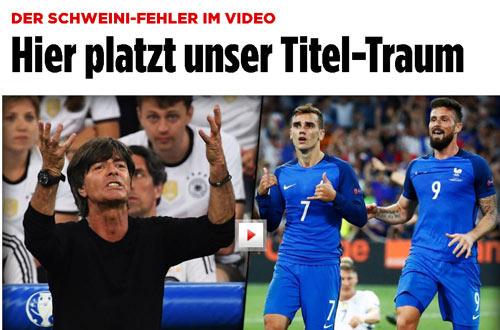 """Báo chí thế giới: Đưa Pháp """"lên mây"""", Đức tan vỡ giấc mơ - 2"""