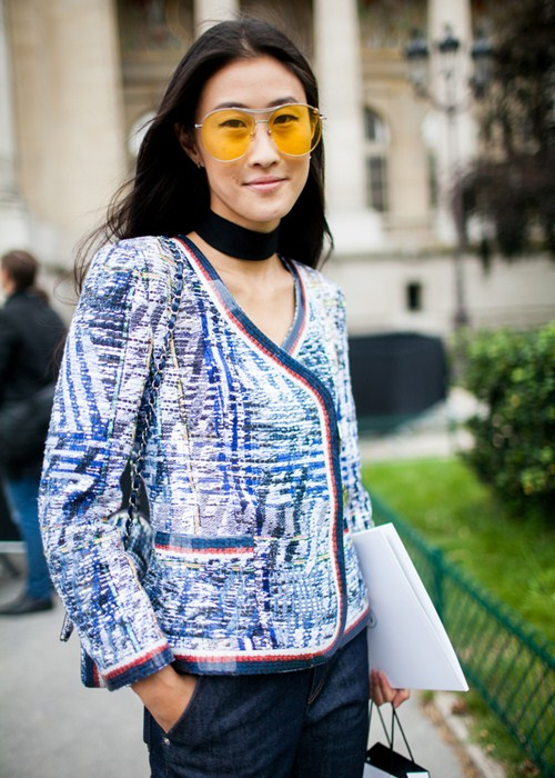 Áo khoác - Vật bất ly thân của tín đồ ở Paris Fashion Week - 1