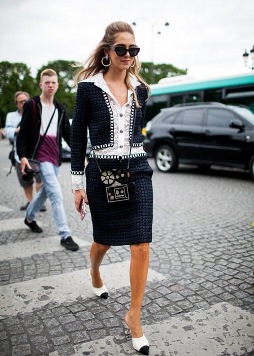 Áo khoác - Vật bất ly thân của tín đồ ở Paris Fashion Week - 4