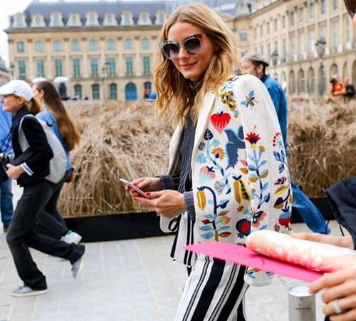 Áo khoác - Vật bất ly thân của tín đồ ở Paris Fashion Week - 8
