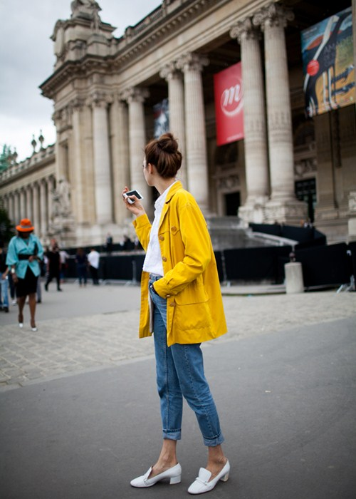 Áo khoác - Vật bất ly thân của tín đồ ở Paris Fashion Week - 13