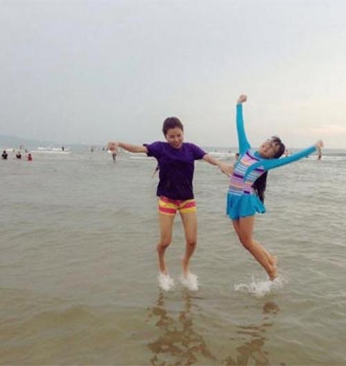 Bất ngờ với gu thời trang đi bơi của Phương Mỹ Chi - 8