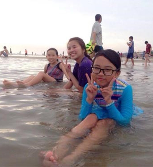 Bất ngờ với gu thời trang đi bơi của Phương Mỹ Chi - 7