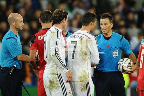 Trọng tài là điểm may của Bồ Đào Nha ở chung kết - 1