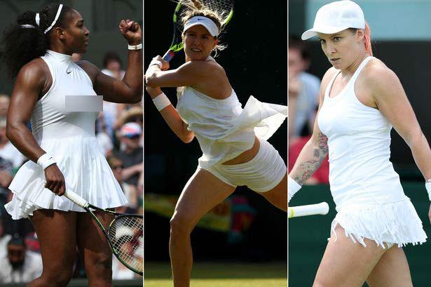 Loạt váy áo ngắn, hở, lạ gây ồn ào tại Wimbledon 2016 - 1