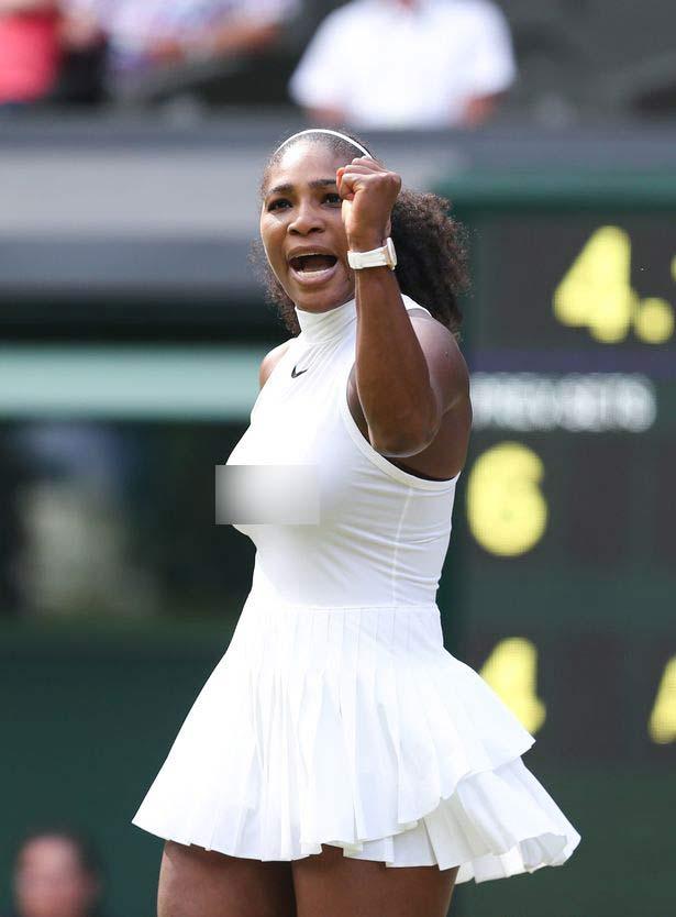 Loạt váy áo ngắn, hở, lạ gây ồn ào tại Wimbledon 2016 - 2