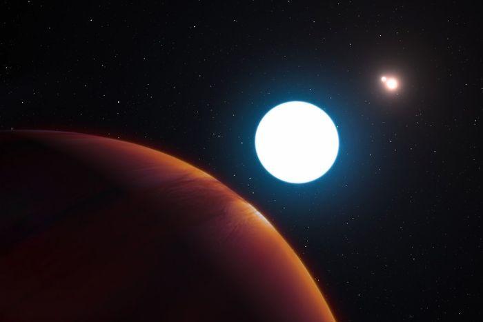 Phát hiện hành tinh cực hiếm có 3 mặt trời - 1