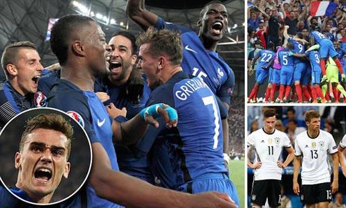 Euro 2016: Định mệnh sắp đặt ĐT Pháp loại bỏ Đức - 1