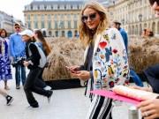 Thời trang - Áo khoác - Vật bất ly thân của tín đồ ở Paris Fashion Week