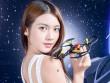 Ngắm mỹ nữ trên tay chiếc Minidrones đa dụng