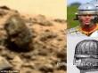 Phát hiện đá hình đầu người trên sao Hỏa