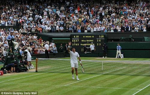 Wimbledon ngày 12: Chung kết Raonic - Murray - 6