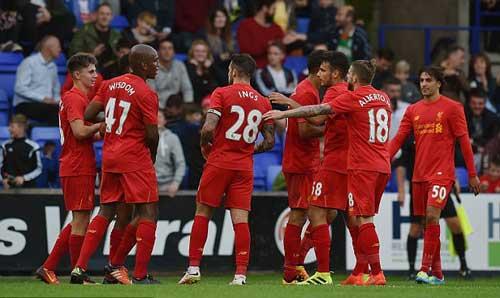 Tranmere – Liverpool: Khác biệt từ ghế dự bị - 1
