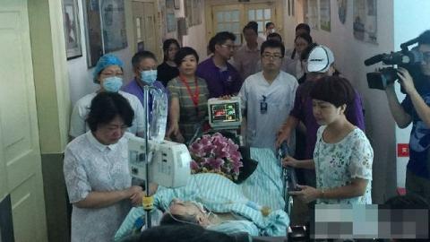 Người đàn ông bị đột quỵ hiến tạng cứu 6 người - 2