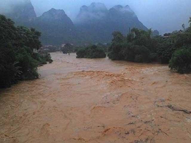 Yên Bái: 2 người bị mưa lũ cuốn trôi, mất tích - 1