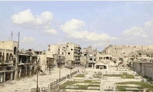 Ảnh: So sánh Syria trước và sau 5 năm nội chiến - 4