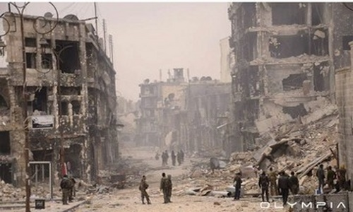 Ảnh: So sánh Syria trước và sau 5 năm nội chiến - 8