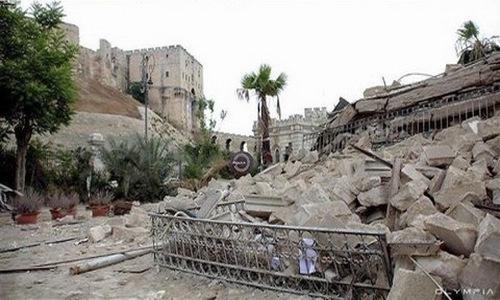 Ảnh: So sánh Syria trước và sau 5 năm nội chiến - 18