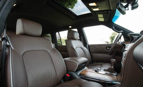 Infiniti QX80 2016 tranh hùng với Lincoln Navigator, Mercedes-Benz GLS - 3