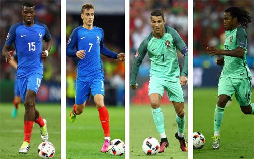 Đọ đội hình Pháp – Bồ Đào Nha: Chủ nhà thắng thế - 3