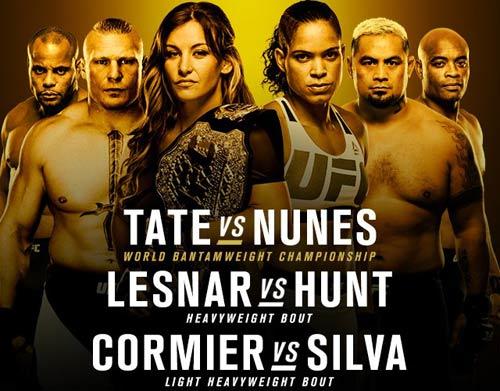 UFC 200: Kiều nữ khỏa thân mới đủ cân thi đấu - 1
