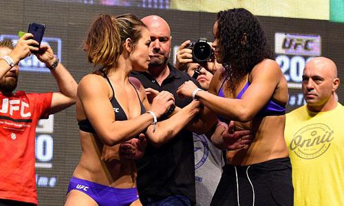 UFC 200: Kiều nữ khỏa thân mới đủ cân thi đấu - 3