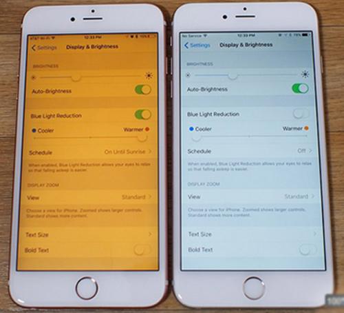 """Apple đăng ký nhãn hiệu tính năng """"Night Shift"""" cho iOS - 1"""