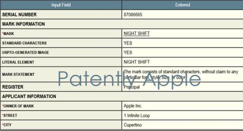 """Apple đăng ký nhãn hiệu tính năng """"Night Shift"""" cho iOS - 2"""