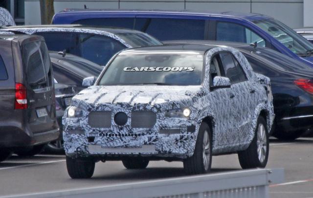 Mercedes-Benz GLE 2019 lần đầu lộ diện ảnh thử nghiệm - 2