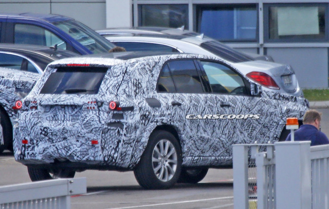 Mercedes-Benz GLE 2019 lần đầu lộ diện ảnh thử nghiệm - 6