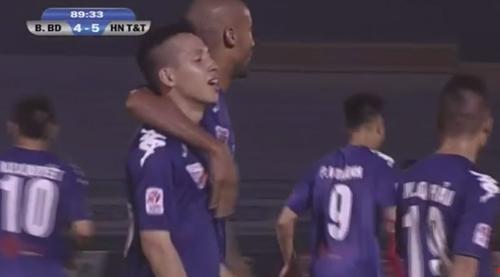 """B. Bình Dương – HN. T&T: """"Kinh điển"""" 9 bàn thắng - 2"""