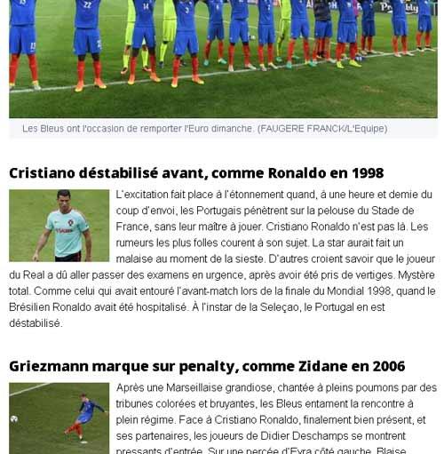 """Báo Pháp mong CR7 """"bị động kinh"""" như Ronaldo 1998 - 1"""