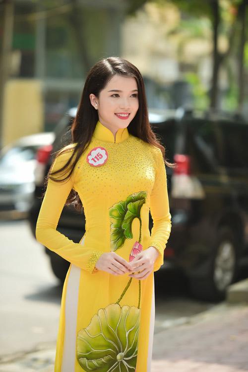 Dàn thiếu nữ xinh đẹp quy tụ ở sơ khảo Hoa hậu VN - 5