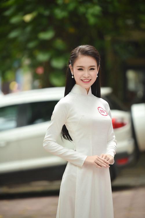Dàn thiếu nữ xinh đẹp quy tụ ở sơ khảo Hoa hậu VN - 6
