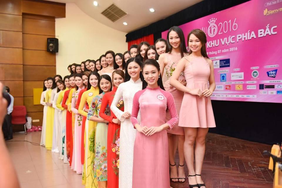 Em gái cao 1m80 của á hậu Trà My đi thi hoa hậu VN - 4